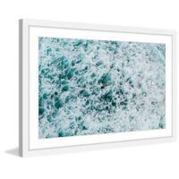 'Foam' Framed Painting Print