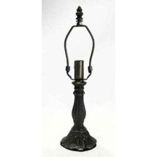 Springdale 7 H in. Metal Lily 1 Light Lamp Base MPN 518