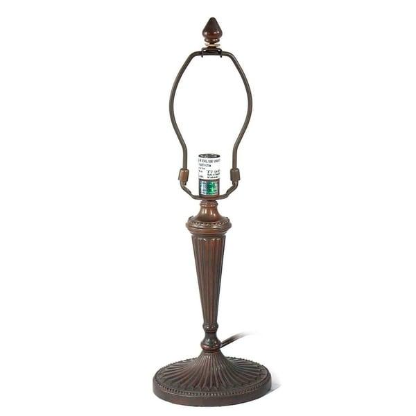 Springdale 17.5 H in. Oval Stripe 1 Light Metal Lamp Base MPN 724