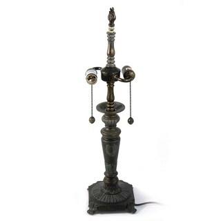 25 H in. Renaissance 2 Light Metal Lamp Base MPN 783