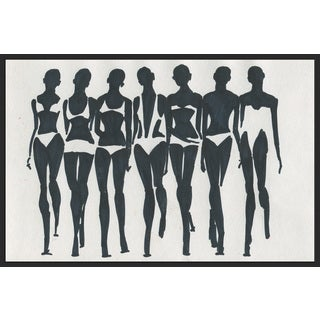 Marmont Hill - Handmade Bikini Style Floater Framed Print on Canvas