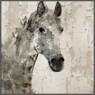 Marmont Hill - Handmade Glaeta Horse Floater Framed Print on Canvas