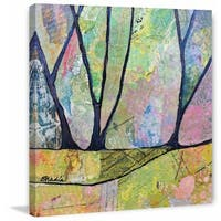'In Wonderland' Painting Print on Wrapped Canvas