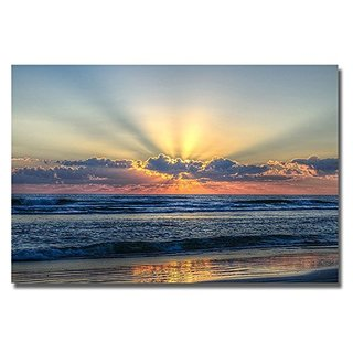 Radiant Dawn by Chuck Burdick Gallery-Wrapped Canvas Giclee Art