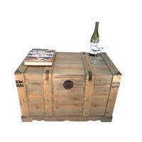 Huntington All Cedar Large Wood Storage Trunk Wooden Treasure Chest