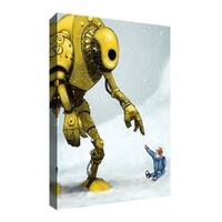 """Epic Graffiti """"Do In Here"""" by Craig Snodgrass, Giclee Canvas Wall"""