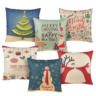 buy christmas throw pillows online at overstockcom our best decorative accessories deals