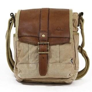 TSD Brand Turtle Ridge Crossbody Handbag
