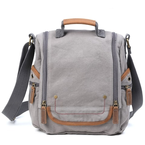 TSD Brand Atona Traveler Canvas Crossbody