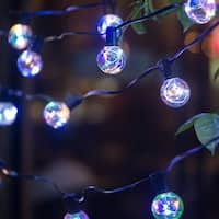 Outdoor Waterproof Christmas Decor Patio Globe String Light Multi