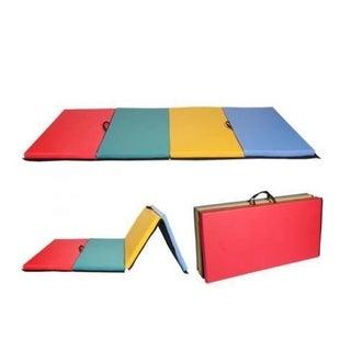"4'x8'x2""Thick Folding Panel Gymnastics Mat Gym Fitness Exercise Mat R4"