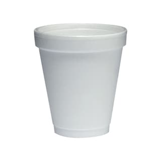Medline Styrofoam Cup, 6-oz (bulk pack of 1000)