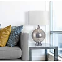"Mila 28.5"" Chrome Table Lamp"