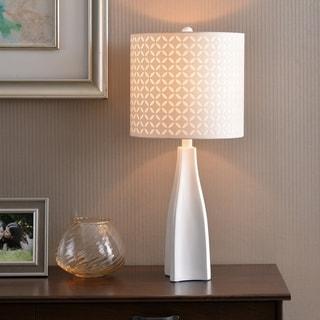 "Design Craft Bardot 29"" Table Lamp - White"