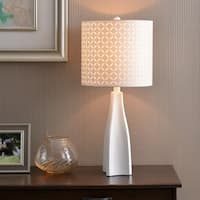 "Bardot 29"" Table Lamp - White"