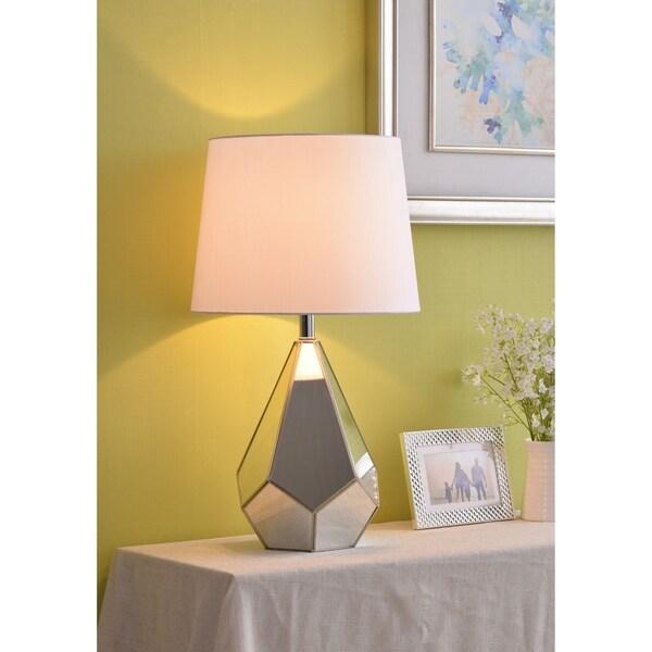 """Raegan 26.5"""" Stainless Steel Table Lamp"""