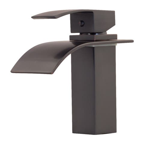 Novatto REMI Single Lever Lav Faucet, Oil Rubbed Bronze