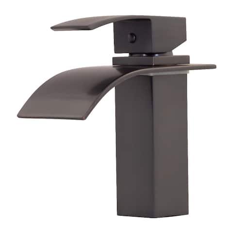 Novatto REMI Single Lever Lav Faucet, Oil Rubbed Bronze