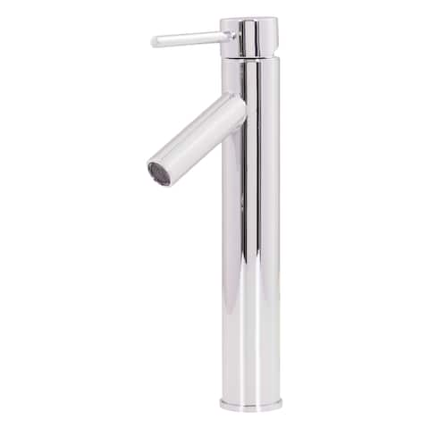 Novatto DALYSS Contemporary Vessel Faucet, Chrome