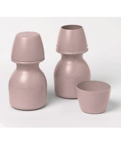 Medline Carafe with Cup Cover Mauve 1 (Pack of 20)
