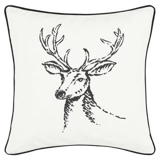 Eddie Bauer Winter Morning Stag Throw Pillow
