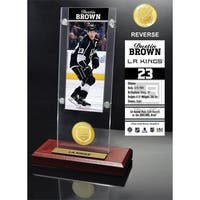 Dustin Brown Ticket & Bronze Coin Acrylic Desk Top - Multi