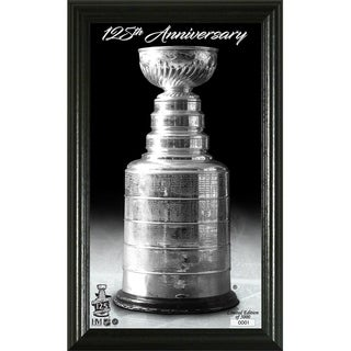 Stanley Cup 125th Anniversary Trophy Photo - Multi