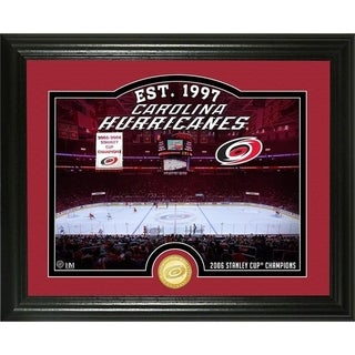 "Carolina Hurricanes ""Rink"" Bronze Coin Photo Mint - Multi"