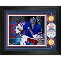 Henrik Lundqvist Bronze Coin Photo Mint - Multi