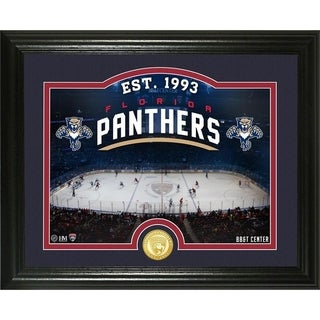 "Florida Panthers ""Rink"" Bronze Coin Photo Mint - Multi"