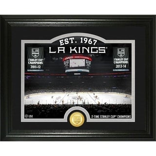 "Los Angeles Kings ""Rink"" Bronze Coin Photo Mint - Multi"