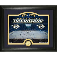 "Nashville Predators ""Rink"" Bronze Coin Photo Mint - Multi"