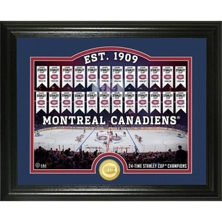 "Montreal Canadiens ""Rink"" Bronze Coin Photo Mint - Multi"