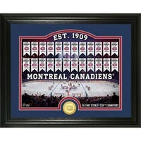 """Montreal Canadiens """"Rink"""" Bronze Coin Photo Mint - Multi"""