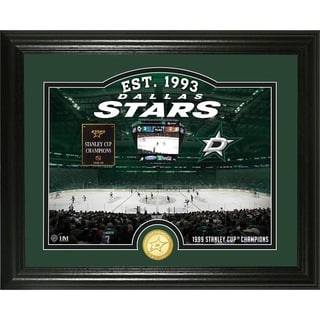 "Dallas Stars ""Rink"" Bronze Coin Photo Mint - Multi"