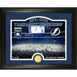 "Tampa Bay Lightning ""Rink"" Bronze Coin Photo Mint - Multi"