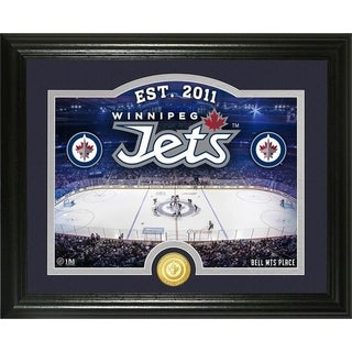 "Winnipeg Jets ""Rink"" Bronze Coin Photo Mint - Multi"