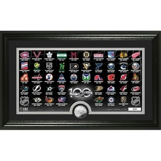 NHL 100th Anniversary Silver Coin Team History Photo Mint - Multi