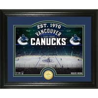 "Vancouver Canucks ""Rink"" Bronze Coin Photo Mint - Multi"