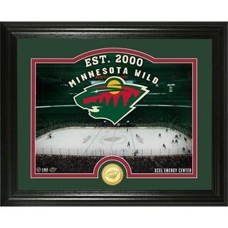 "Minnesota Wild ""Rink"" Bronze Coin Photo Mint - Multi"