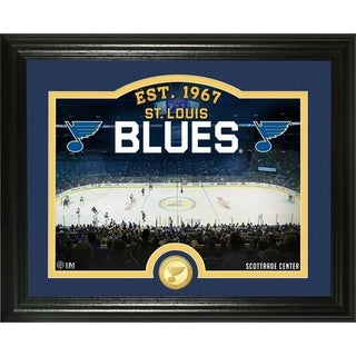 "St. Louis Blues ""Rink"" Bronze Coin Photo Mint - Multi"