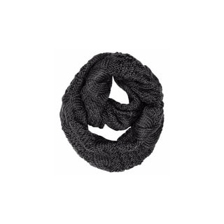 Link to Peach Couture Cable Knit Winter Loop Scarf Similar Items in Scarves & Wraps