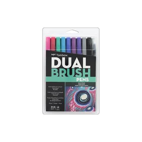 Tombow Dual Brush Pen Set Galaxy 10pc