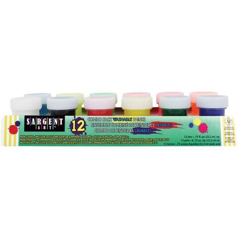 Washable Paint Combo Pack 12/Pkg