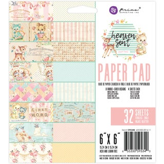 """Prima Marketing Double-Sided Paper Pad 6""""X6"""" 32/Pkg"""