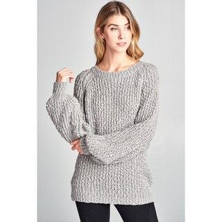 Spicy Mix Andela Chunky Soft Knit Long Sleeve Sweater