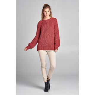 Spicy Mix Andela Chunky Soft Knit Long Sleeve Sweater (2 options available)