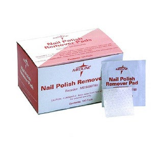 Medline Nail Polish Remover Pad (Case of 1000)