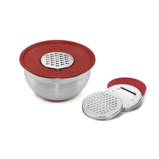 Cuisinart Mixing Bowl with Graters and Lid