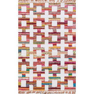 Novogratz by Momeni Ojai Multicolor Cotton Area Rug - 5' x 7'6""